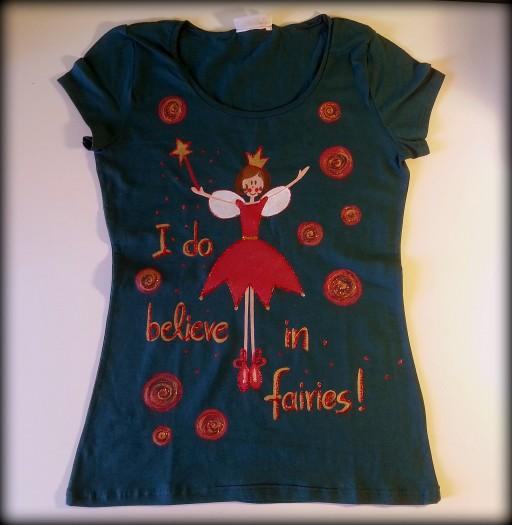 I do believe in fairies